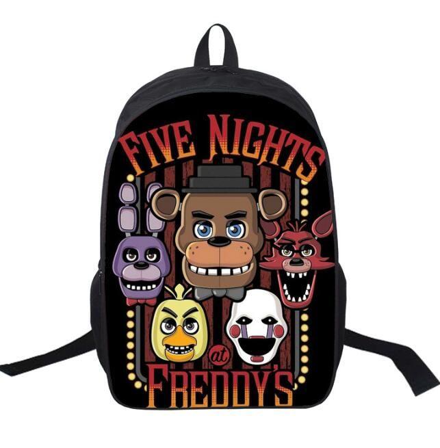 fb0d8290b9 2019 Five Nights At Freddy S Backpack FNAF Children School Bags Chica Backpacks  Rucksacks Boys Girls Kindergarten Bag Outdoor Travel Bags From  Householdroom ...