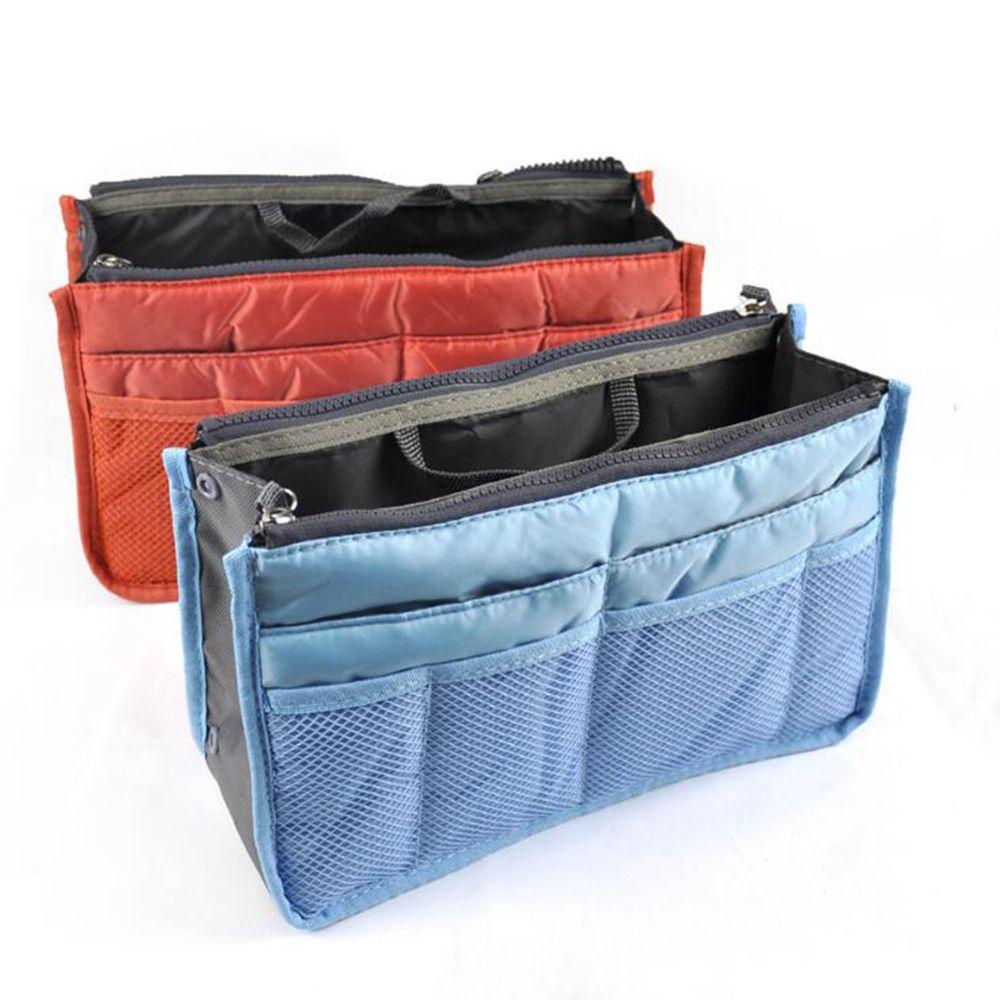 a8aef4e648 Women Dual Bag In Bag Insert Cosmetic Bags Handbag Organizer Makeup Case  Storage Liner Bags Multifunctional Travel Toiletry Bag Stuff Sacks Beauty  Shops ...