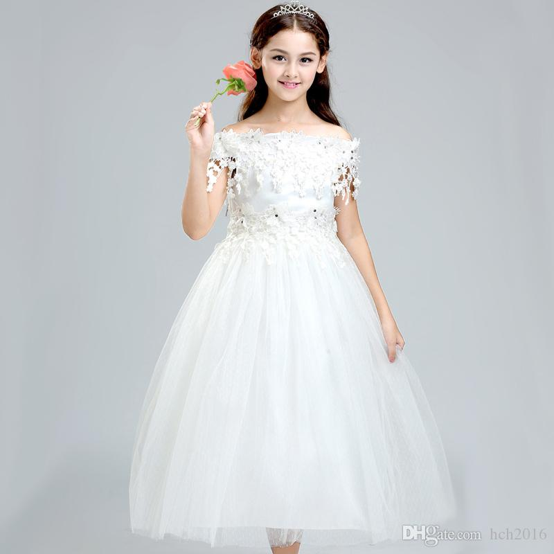 Weddings Events Kids Formal Wear Flower Girls' Dresses Princess ...