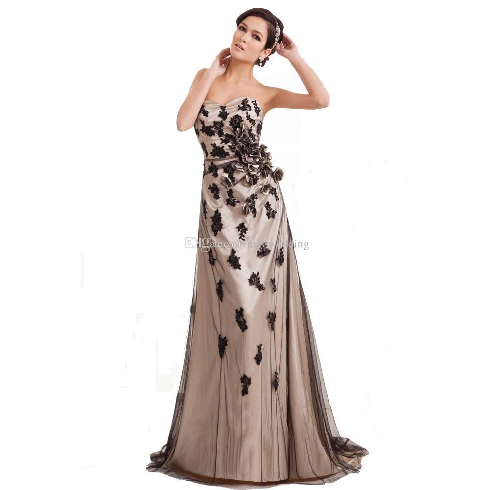 Fashion Designer Dress Evening Prom Sweetheart 2017 Ladies Elegant ...