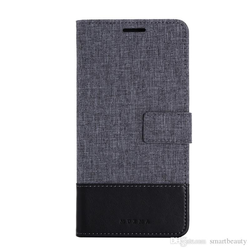 Capa de Couro para a Vivo X9 PLUS V5 Plus Ultra Carteira Capa Bolsa em sacos de telefone de cartão de Silicone Slots Stand Case Telefone