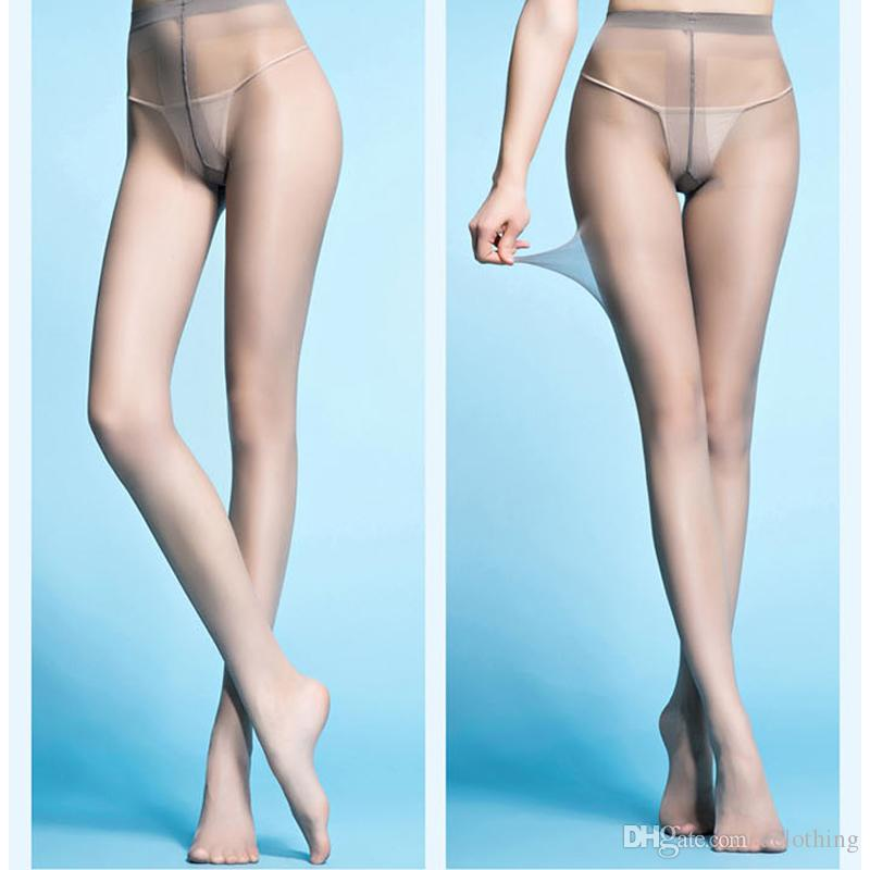 2019 Lady Socks Ultra Thin Transparent Nylon Material Tight Slim Pantyhose Black Gray Thigh High Stockings From Aclothing 3 64 Dhgate Com