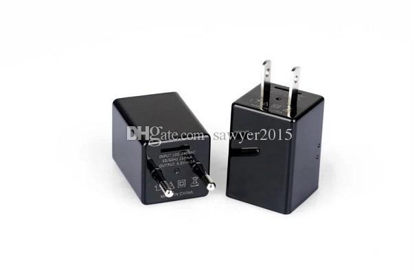 1080P HD USB التوصيل كاميرا Z99 الولايات المتحدة / الاتحاد الأوروبي شاحن لاسلكي واي فاي P2P IP كاميرا AC محول المقبس واي فاي كاميرا المراقبة مع مربع البيع بالتجزئة