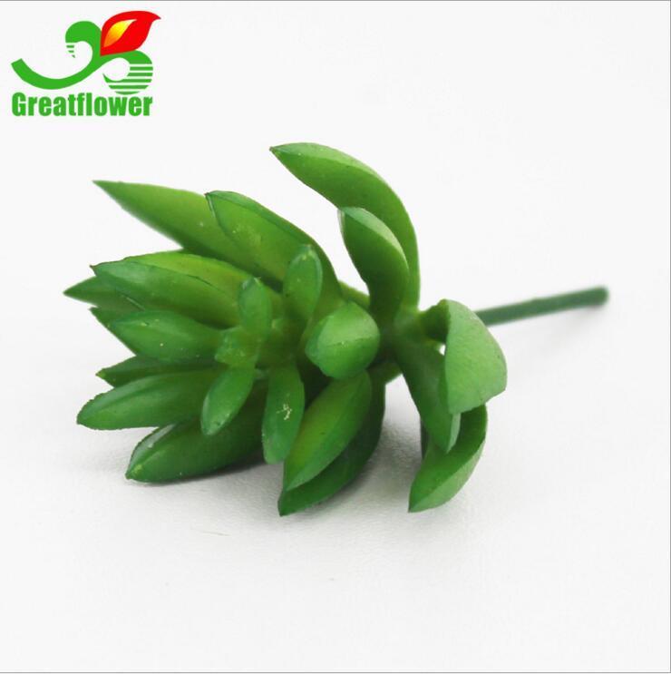 Random Style Artificial Plants with Vase Bonsai Tropical Cactus Fake Succulent Plant Potted Office Home Decorative Flower Pot