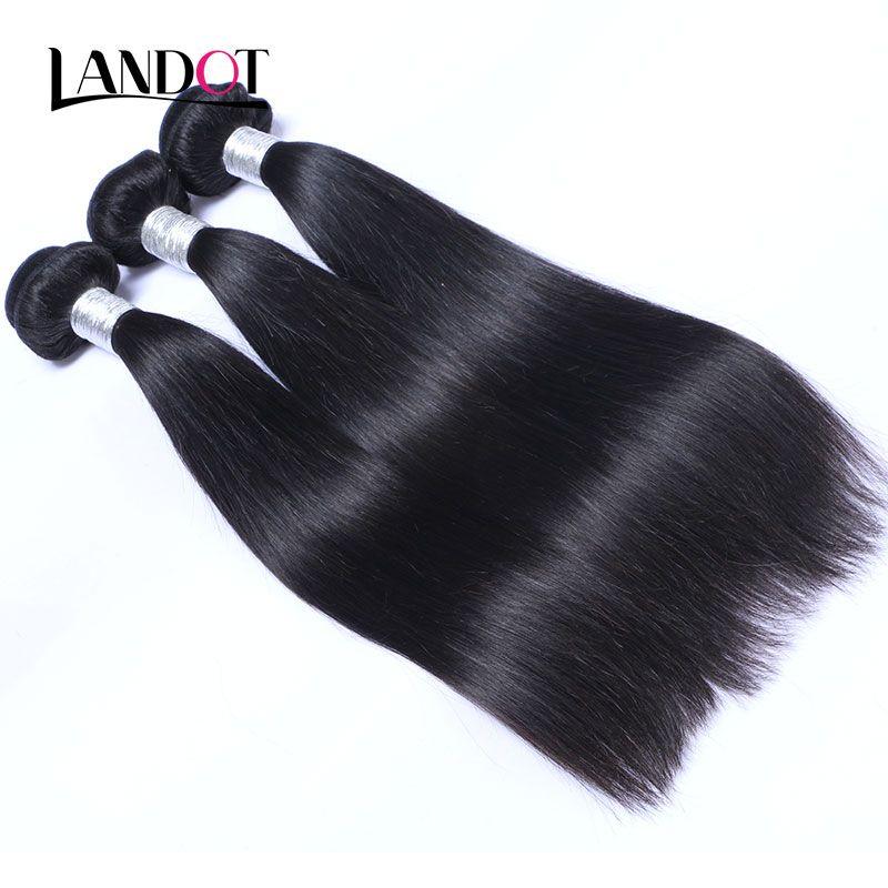 100 % 버진 인간의 머리카락 묶기 브라질 페루 말레이시아 인디언 캄보디아 러시아 유라시아 필리핀 스트레이트 레미 헤어 익스텐션