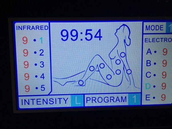 3 en 1 la terapia de presión de aire sauna manta de infrarrojos eliminación de celulitis sistema de aparatos de terapia de presión de aire infrarrojo lejano