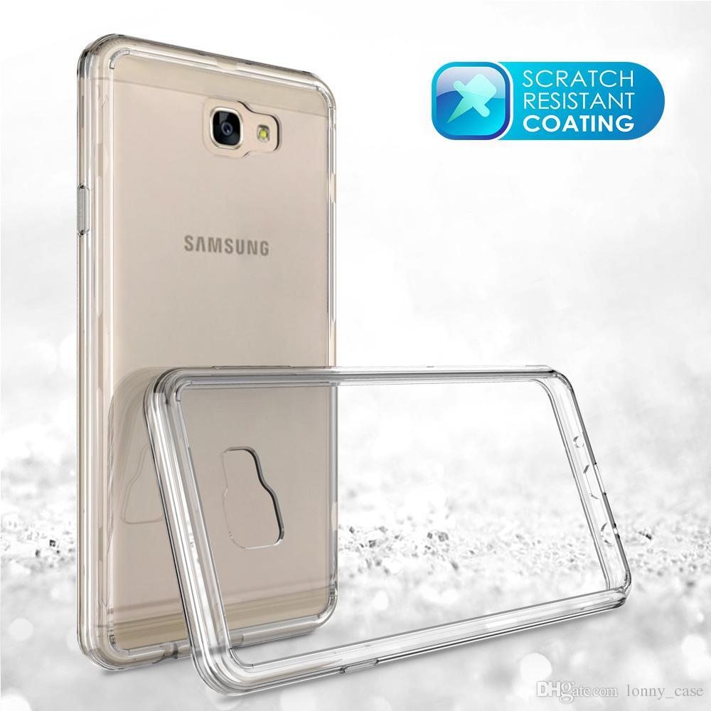 9cd531428 Carcasas Para Celulares Funda De Armadura Para Samsung Galaxy J7 Prime On7  2016 Funda Móvil Ultra Delgada Invisible Tpu + PC Conjuntos De Carcasa De  Cristal ...