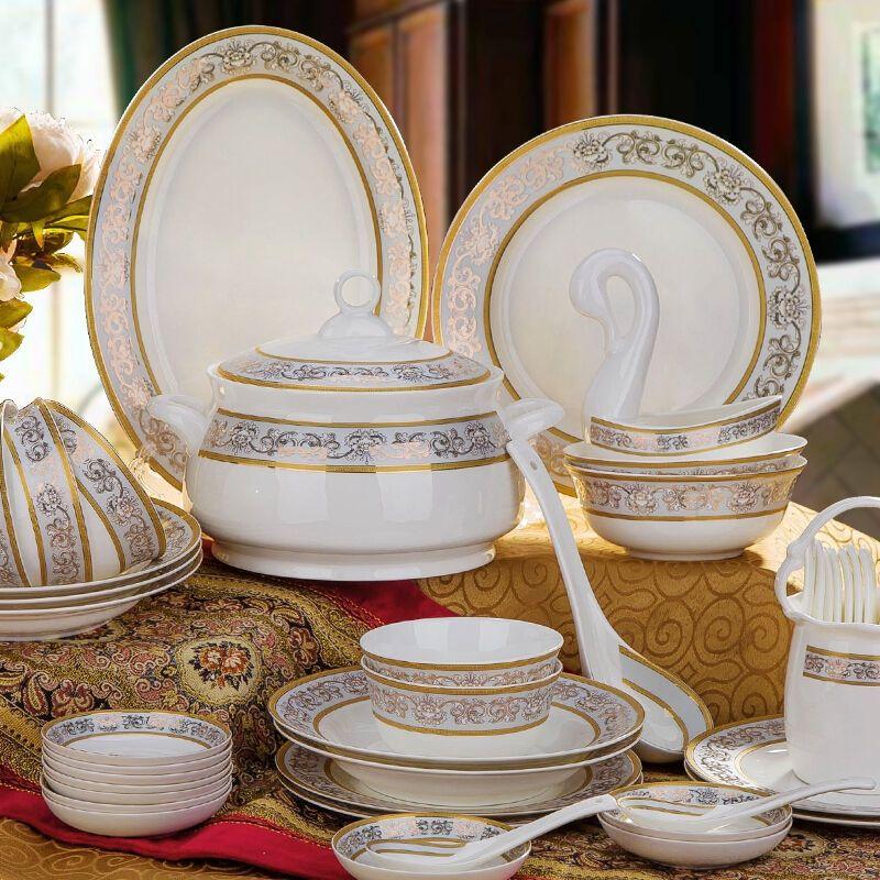 Tableware Sets Korean Ceramics The Edge Of The Gold Good Dinnerware Sets Green Dinnerware Sets From Rainmansupplychain $155.83| Dhgate.Com & Tableware Sets Korean Ceramics The Edge Of The Gold Good Dinnerware ...