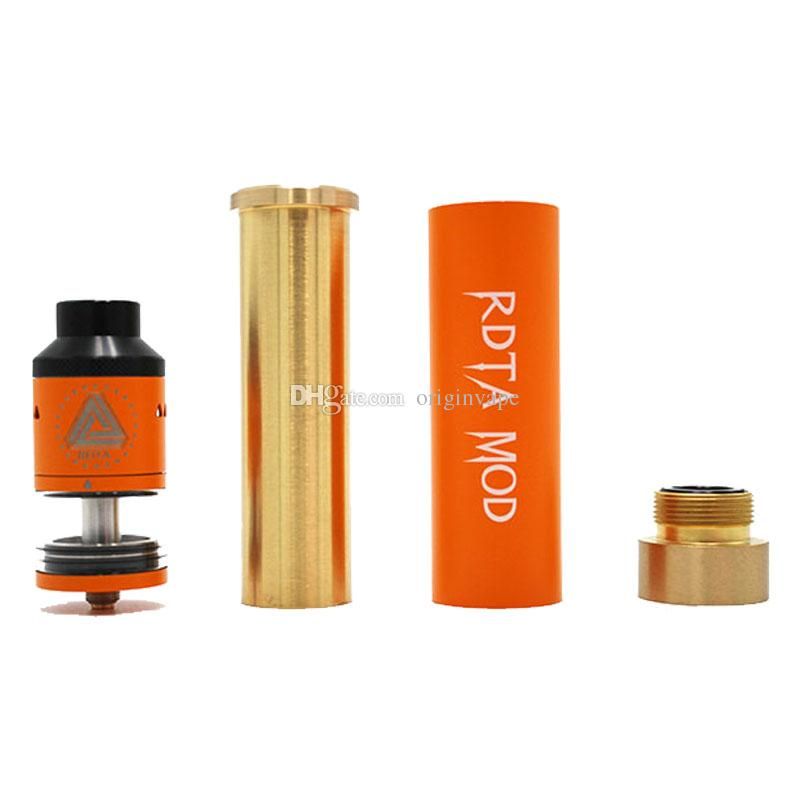 Quality Ijoy Limitless RDTA MOD Kit Copper Tube MOD 18650 Battery 6.9ml Sub Ohm Tank Atomizer Colors DHL