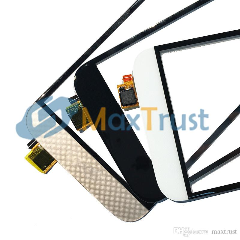 """Top Quality 5.5"""" For Huawei Ascend G8 RIO-L02 GX8 RIO-L03 Touch Screen Digitizer Front Panel Sensor Black White Gold Color"""