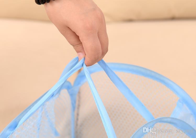 طوي شبكة الغسيل سلة الملابس لوازم التخزين يطفو على السطح الغسيل الغسيل سلة الغسيل بن تعوق شبكة تخزين حقيبة SN2958