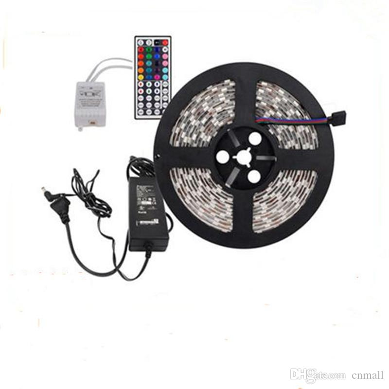 Christmas lights non waterproof rgb led strip light 164 feet 150 christmas lights non waterproof rgb led strip light 164 feet 150 leds 5050 smd 5m led strip light44 key remote controller5a power supply 12v led light aloadofball Images