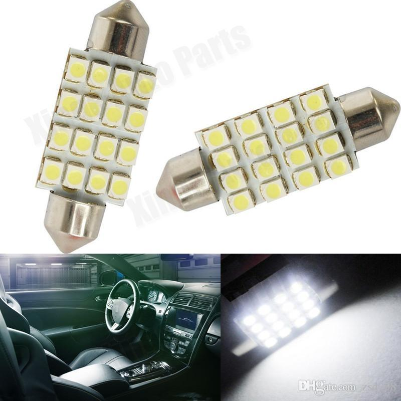 Peugeot 207 501 W5W Yellow Interior Glove Box Bulb LED High Power Light Upgrade