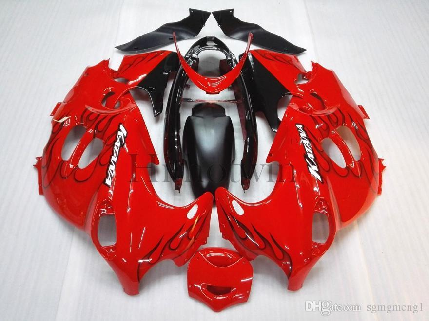 Carenatura in plastica ABS aftermarket Suzuki GSX600F Katana 2003-2006 GSX 600F 03 04 05 carrozzeria rosso fiamma