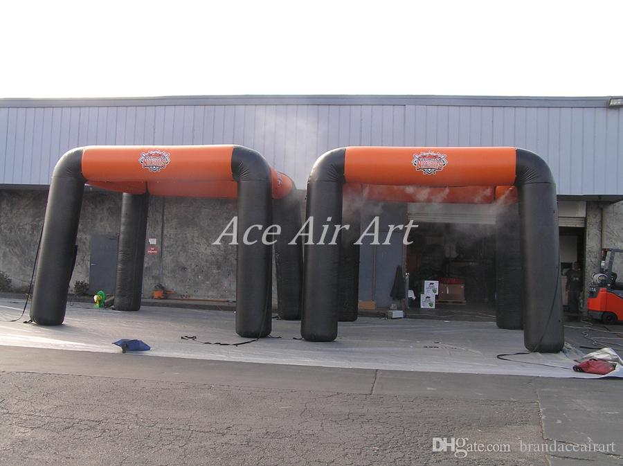 2018 Newly designed inflatable mist ten,inflatable spray misting tunnel tent for sunmmer