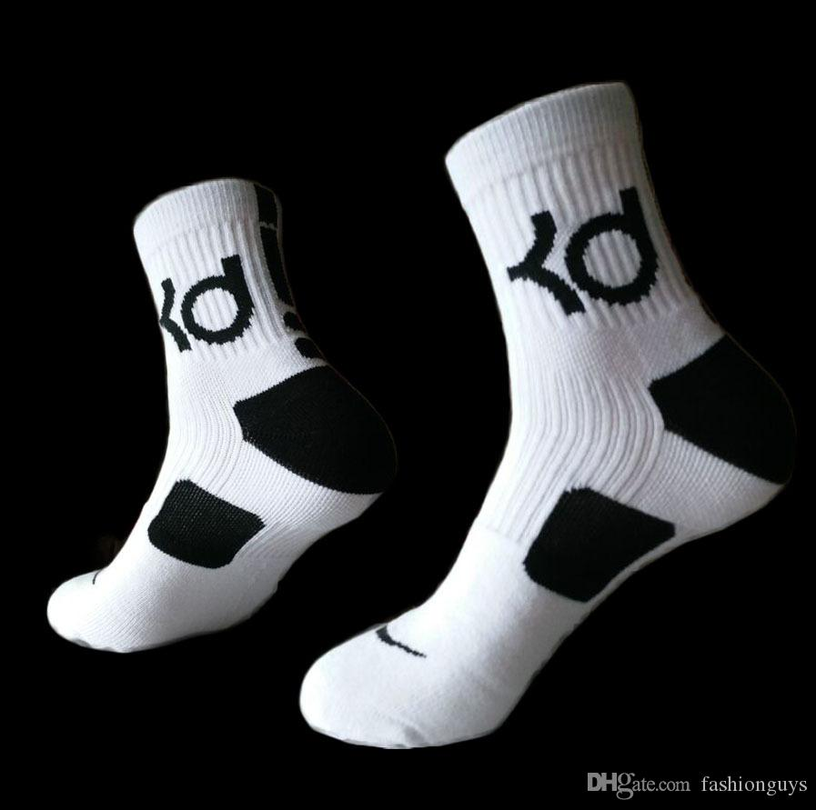 New cotton thick bottom towel Deodorant movement socks Mens high KD elite basketball football sport socks wholesales