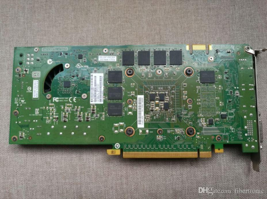 671137-001 608533-003 608533-002 616076-001 038XNM Quadro 4000 2GB DDR5 Video Card Graphics PCI Express 2.0 x16 Dual DVI-I Display Port