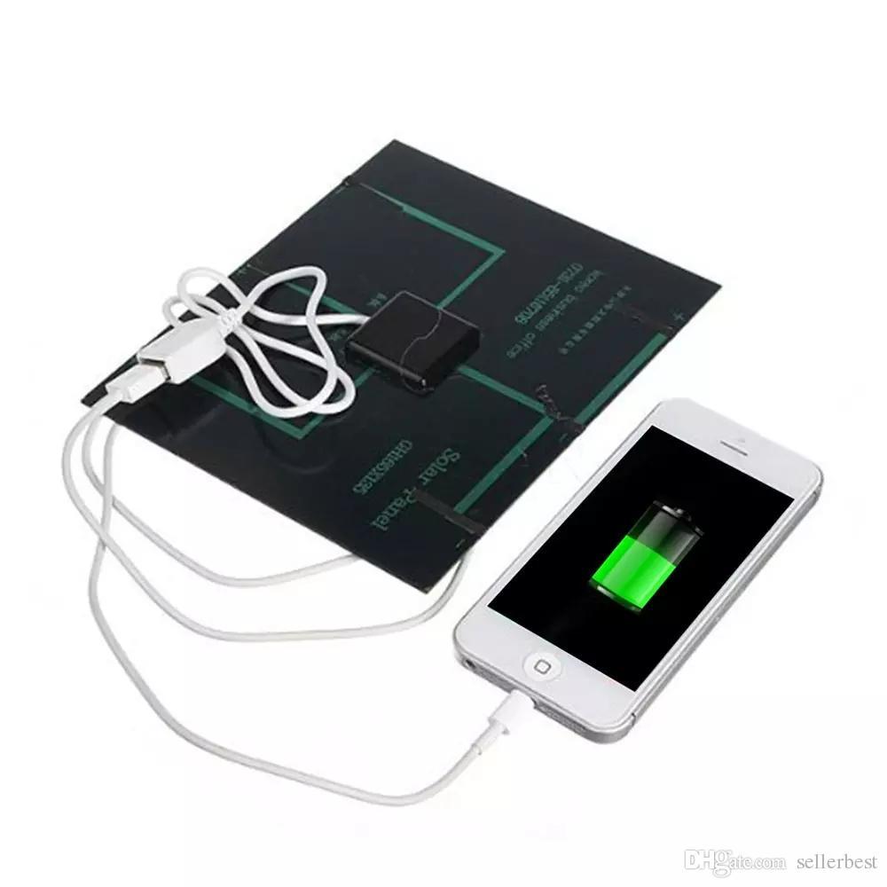 Universal 6 V 3,5 Watt Solar Power Panel Ladegerät USB OTG Tragbare Solar Ladegerät Mobile Solar Panel Energienbank Quelle für Telefon Outdoor