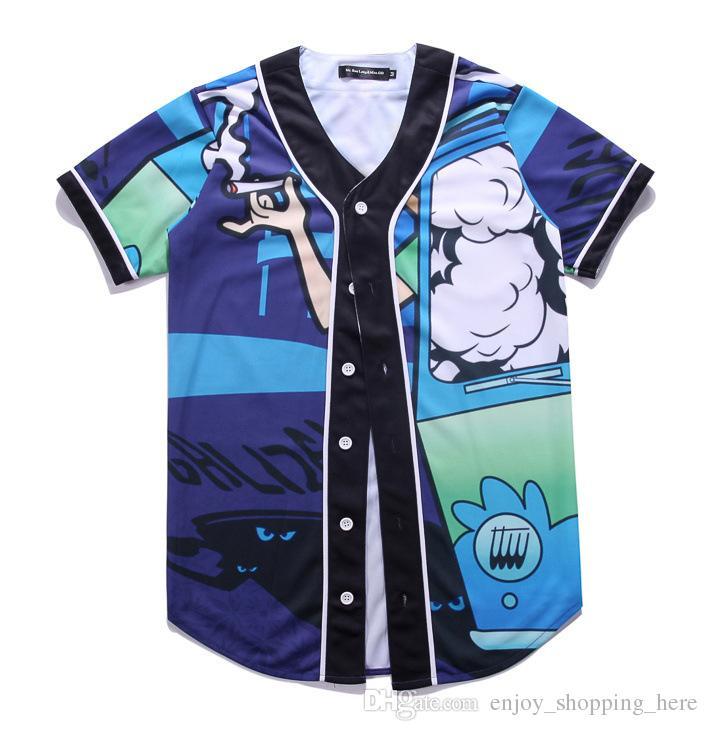 3d t shirt baseball t shirts print short sleeve harajuku men women hip hop shirts tops funny pokers design mens t shirts