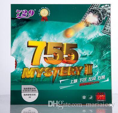 Low price 729 Friendship table tennis rubber with sponge 755 Mystery III table tennis