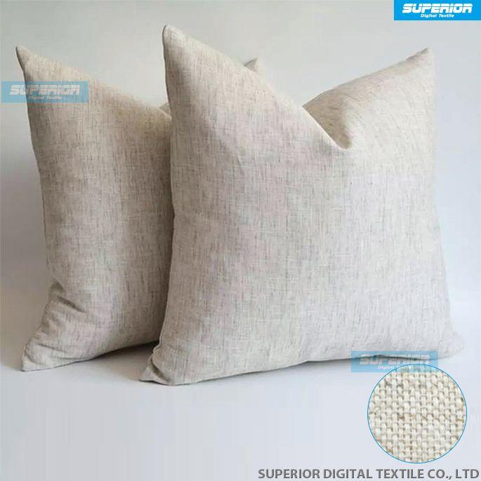 Sell LinenCotton Blended Grey Plain Pillow Case Grey Blank Linen Stunning Blank Pillow Covers Wholesale
