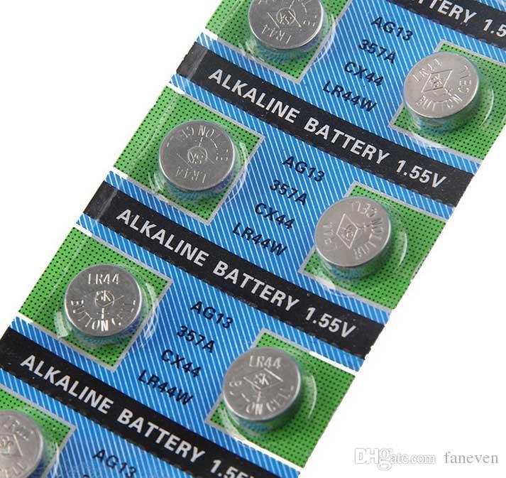 AG13 LR44 357 Pil düğmesini izleyin pil elektronik pil