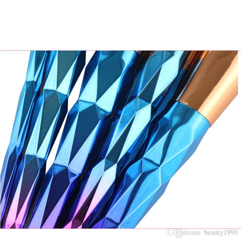/ 세트 메이크업 브러쉬 세트 전문 홍당무 가루 눈썹 아이섀도 립 코 로즈 골드 블렌딩 메이크업 브러시 화장품 도구