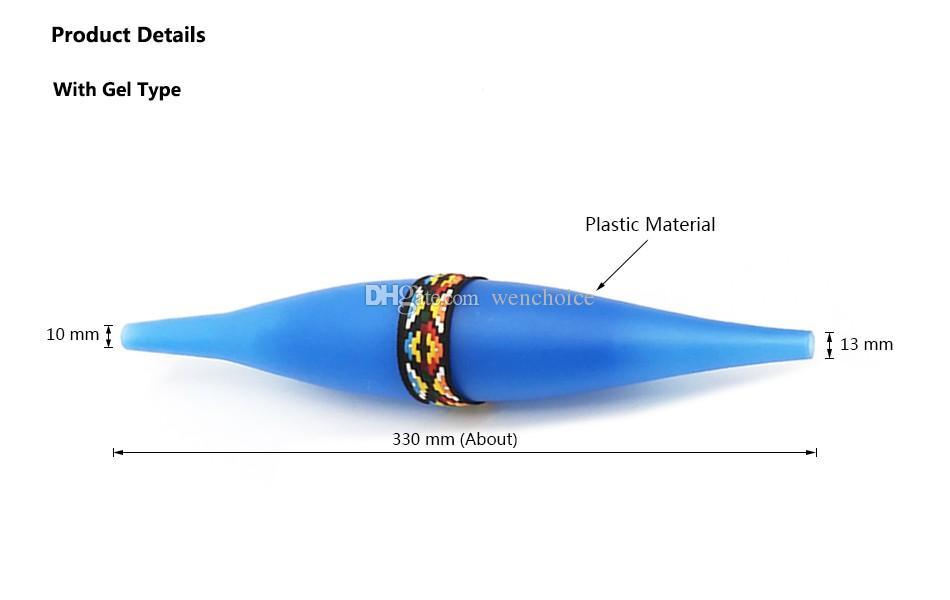 USA vendita caldo congelamento narghilè tubo sacchetto di ghiaccio con gel fumare shisha colling pipe narghilè / sheesha / chicha / narguile accessori