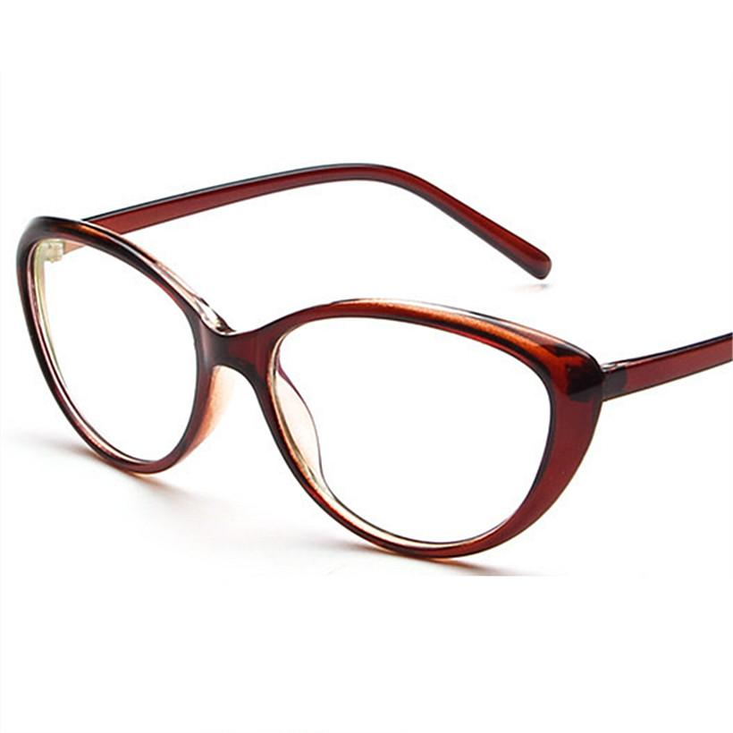 c43a601654 Wholesale- Vintage Fashion Men Women Cat Eye Eyeglasses Frame Anti ...