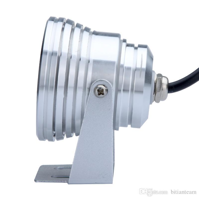 Neue 2017 10 Watt RGB LED Unterwasserlicht Wasserdicht IP68 Brunnen Schwimmbad Lampe 16 Bunte Änderung Mit 24 Schlüssel IR Fernbedienung