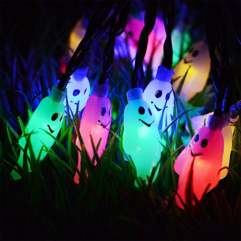 5m 20 LED Lampade solari Filo di rame Fata String Patio luci 33ft impermeabile giardino all'aperto Natale decorazione della festa nuziale
