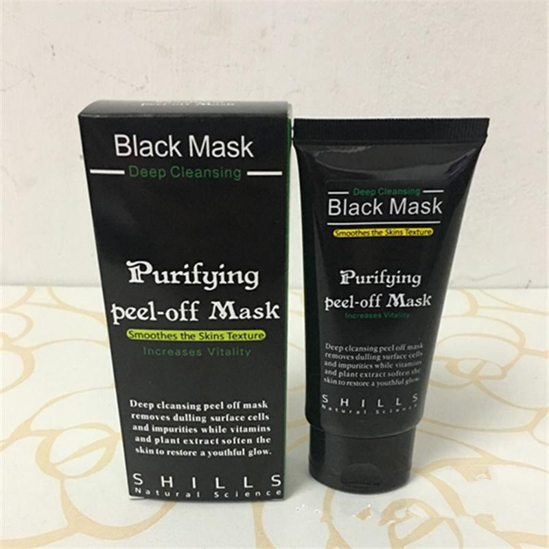 50ml SHILLS Purifying Peel Off Black Mask Blackhead Remover Deep Cleansing Face Pore Cleaner Acne Treatment Facial Mask