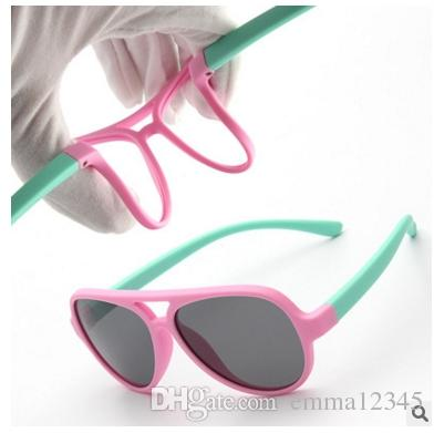 a500dc48fae9 Brand Quality Kids Sunglasses Polarized Baby Boy Girls TR90 Sun ...