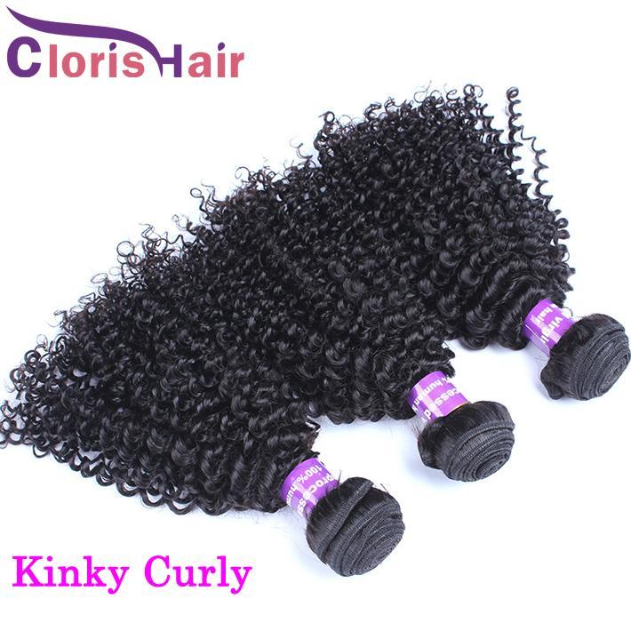 Derin Kıvırcık Ham Virgin Hint Brezilyalı Perulu Malezyalı Gevşek Dalga Paketler İşlenmemiş İnsan saç örgüleri Su Kinky Düz Uzantıları