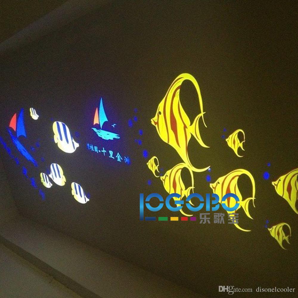 Led Işıklı Oda Numaraları yere veya Duvar Işıklı 4200 Lümen Süslemeleri Desen Gobo Etkisi Aydınlatma Sistemi 30 W Ücretsiz Kargo