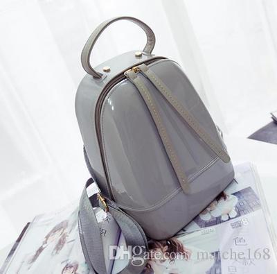 Mulher saco de geléia mini mochila adulto criança doce cor praia à prova d 'água