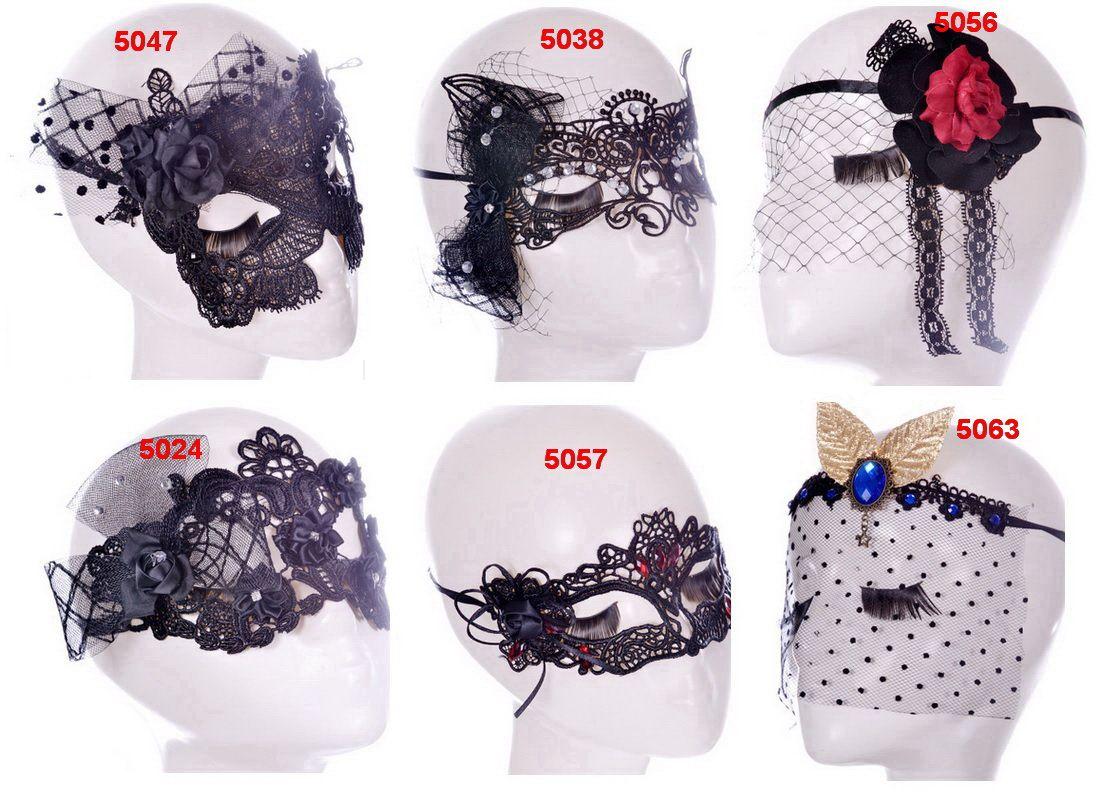 populaire partie Catwoman dentelle dentelle masque fait à la main populaire, masque de danse discothèque discount, dentelle sexy, fête de Pâques Mesdames demi-masque, modèles de vente chaude