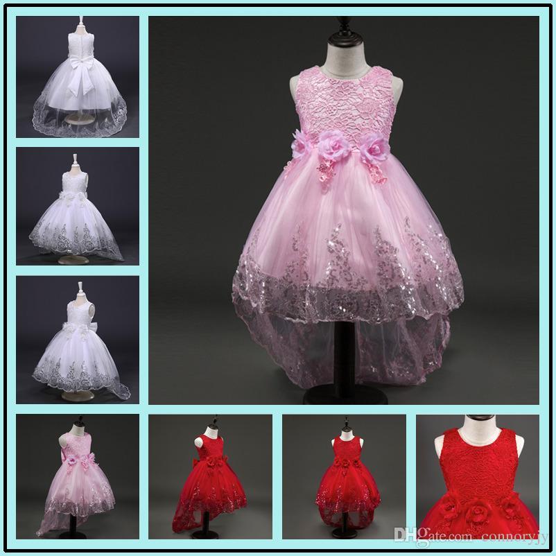 862ef865c Kids Dresses For Girls Flower Girl Dresses Birthday Kid Clothes ...