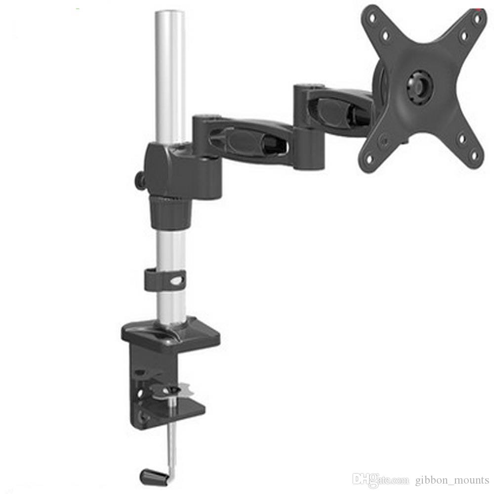 2018 Honghua 15 27 Lcd Tv Ultra Long Arm Monitor Holder Display Mechanical Lengthened Rack Table Clamping Mount Bracket From Gibbon Mounts