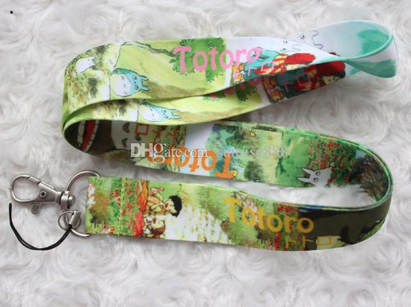 Hot sale wholesale Animated characters image exquisite phone lanyard fashion keys rope neck rope card rope 766