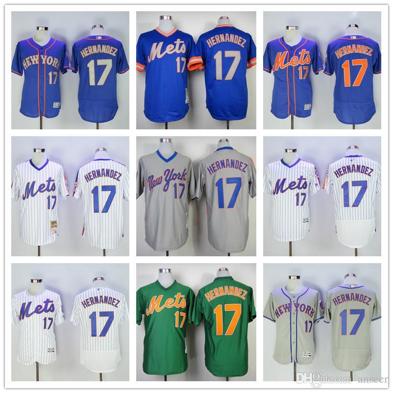 buy online 20b75 9de06 new york mets 17 keith hernandez 1987 green throwback jersey