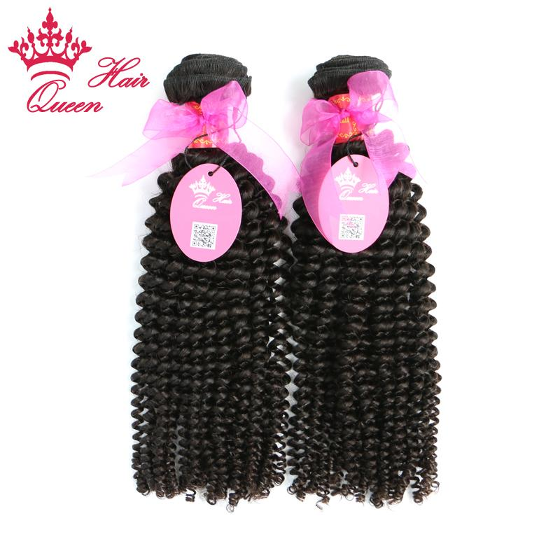 Queen Hair Official Store Mix length 12 to 28 DHL Shipping Brazilian virgin kinky curly human Remy hair weave extensions
