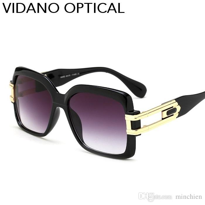 3a53dccd9d Vidano Optical High Quality Vintage Butterfly Sunglasses For Men and Women  Luxury Europe Fashion Design Gradient UV400 Protection