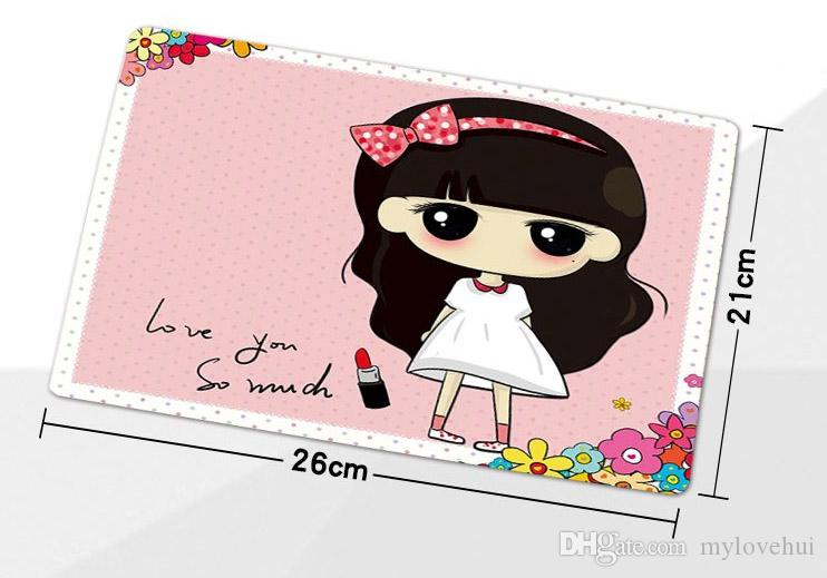 High-quality wholesale factory direct 260 * 210 * 3mm live love run by vetro designs anti-skid rubber mouse pad version