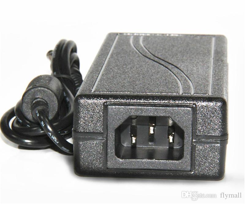 Trasformatori di illuminazione caricabatterie con adattatore di alimentazione CA da 100-240V a CC 12V 6A 72W con cavo di alimentazione EU / AU / UK / US 1.2m luci di striscia a led