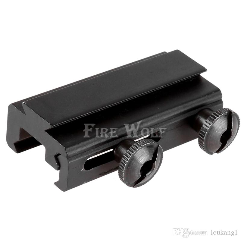 FIRE WOLF Dovetail Rail Extension 20mm to 11mm Picatinny Weaver Scope Mount Base Adapter Hunting Tactical Scope Mount