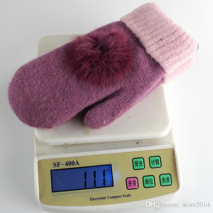 2019 New High Quality Woman Wool Glovess European Fashion Designer Warm Glove Drive Out Of Sports Mitten Brand Gloves Multi-style Optional