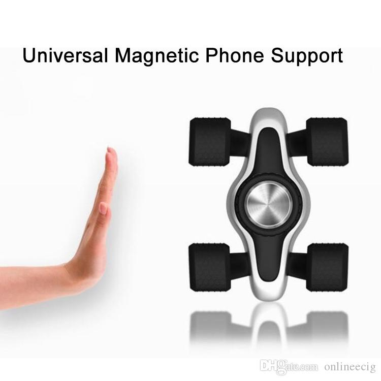 2017 Magnet Car Holder For Iphone 6s 5s Accessories GPS Cradle Kit For Samsung Stand Display Support Magnetic Smart Mobile Phone Car Holder