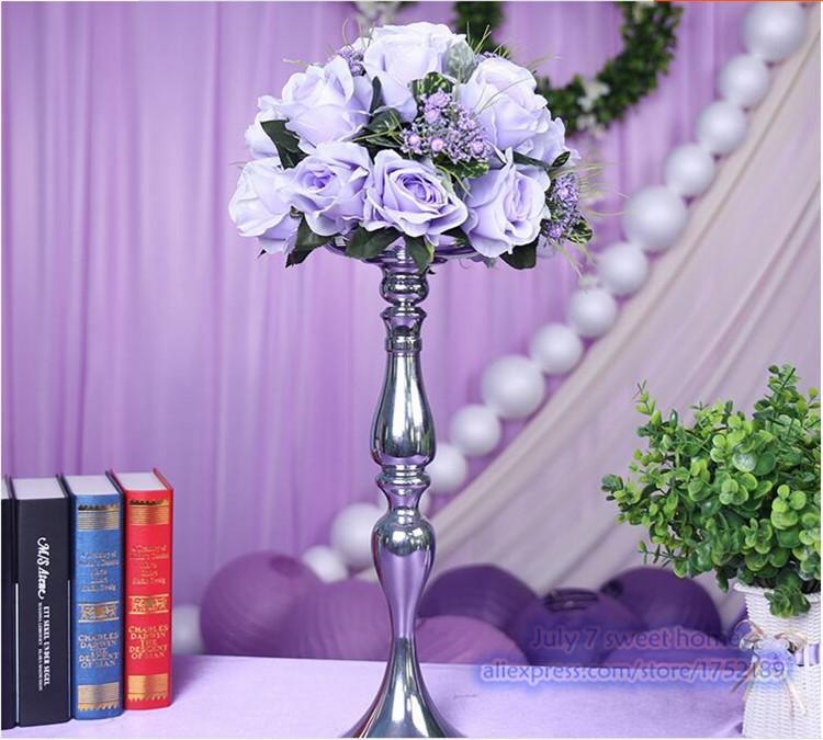 Wedding Centerpiece Wedding Table Decoration Flowers Light Purple