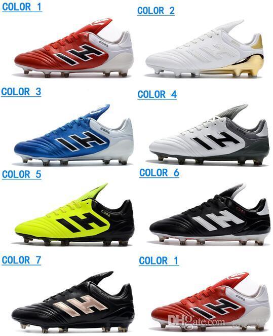 6904cac9 Compre 2017 Nueva Llegada Original Hombres Copa 17.1 FG Zapatos De Fútbol  Copa Mundial Botas De Fútbol Hombres De Fútbol Al Aire Libre Botas Zapatos  De ...